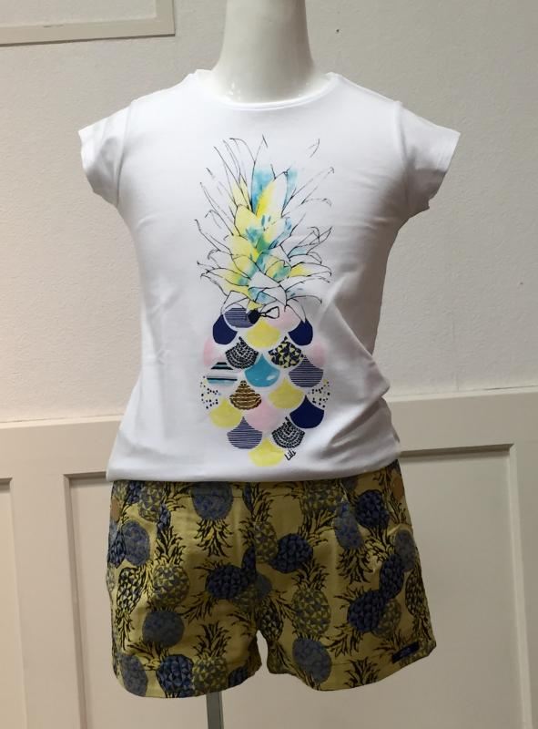 cb95853dd29a6 LiLi Gaufrette リリーゴーフレット~ Tシャツ ショートパンツのご紹介 ...
